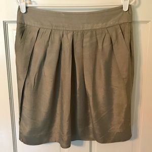 Odille By Anthropologie Bronze Skirt